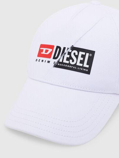 Diesel - CAP-CUTY, White - Caps - Image 3