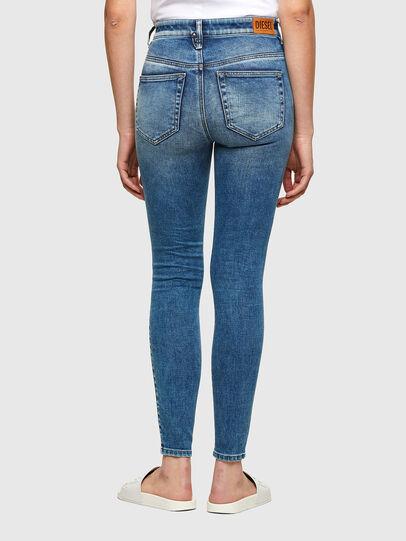 Diesel - Slandy High Skinny Jeans 009PT, Light Blue - Jeans - Image 2