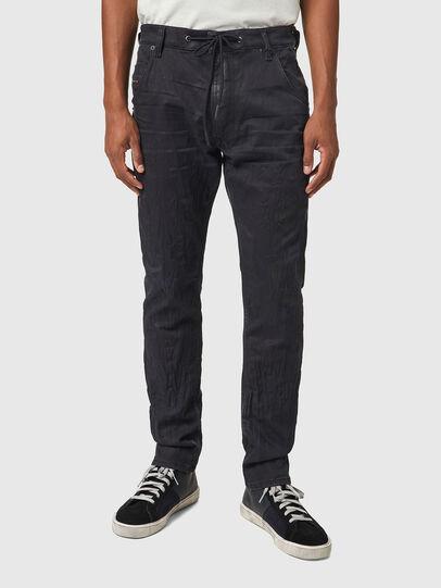 Diesel - Krooley JoggJeans® 069WB, Negro/Gris oscuro - Vaqueros - Image 1