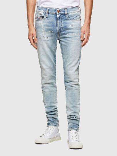 Diesel - D-Reeft Skinny JoggJeans® 069UC, Light Blue - Jeans - Image 1