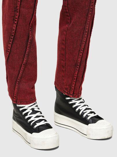 Diesel - D-Joy Slim Jeans 009RJ, Red - Jeans - Image 4