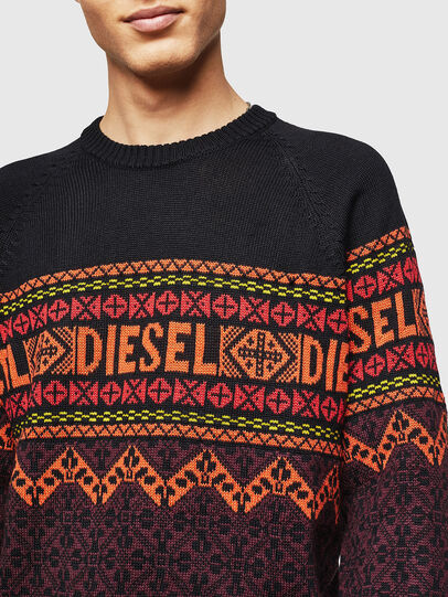 Diesel - K-CV-ALLJAC, Multicolor/Black - Sweaters - Image 3