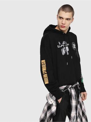 S-ALBY-HOOD-Y1, Black - Sweatshirts