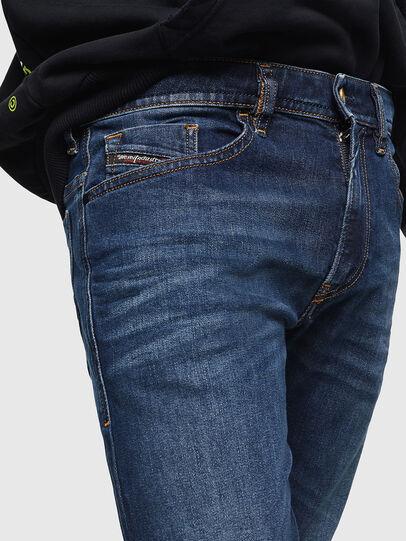 Diesel - Thommer 0096B, Dark Blue - Jeans - Image 3