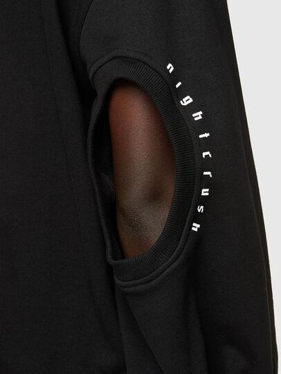 Diesel - F-CIONDY, Black - Sweatshirts - Image 4