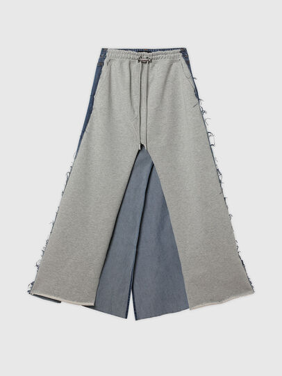 Diesel - O-LE, Grey/Blue - Skirts - Image 6