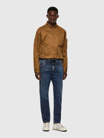 Diesel - Krooley Tapered JoggJeans® 069VX, Dark Blue - Jeans - Image 5