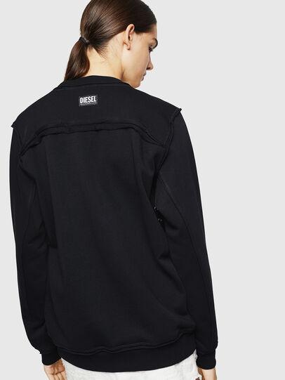 Diesel - F-LYANY-H, Black - Sweatshirts - Image 2