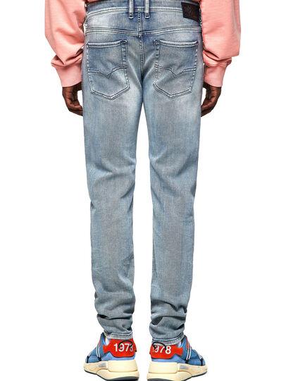 Diesel - Sleenker Skinny Jeans 009KL, Medium Blue - Jeans - Image 2