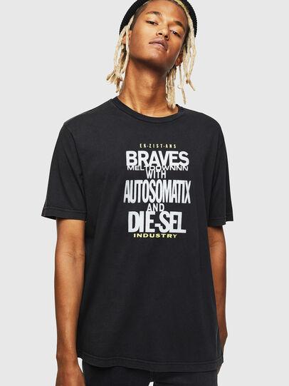 Diesel - T-JUST-J17, Black - T-Shirts - Image 1