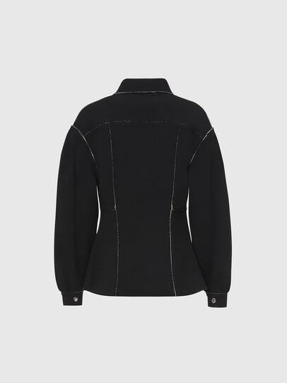Diesel - G-ALBA, Black - Jackets - Image 2