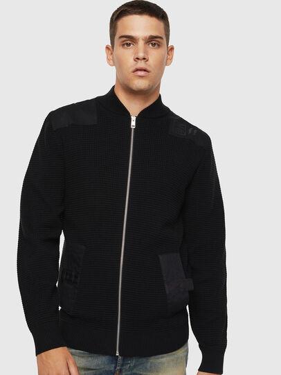 Diesel - K-PROXTER, Black - Sweaters - Image 1