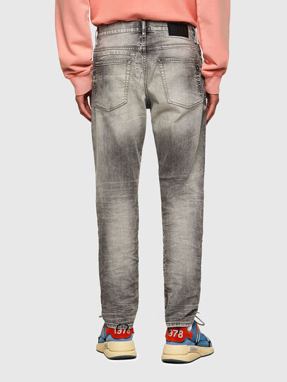 Diesel - D-Fining Tapered Jeans 069SV, Light Grey - Jeans - Image 2