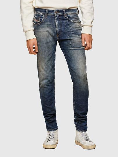 Diesel - D-Strukt Slim Jeans 009TX, Dark Blue - Jeans - Image 1