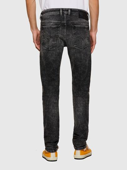 Diesel - Sleenker Skinny Jeans 09A17, Black/Dark Grey - Jeans - Image 2