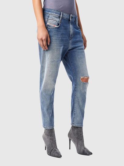 Diesel - Fayza Boyfriend Jeans 09B16, Light Blue - Jeans - Image 6