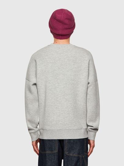 Diesel - S-KRIB, Grey - Sweatshirts - Image 2
