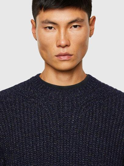 Diesel - K-CARBON, Dark Blue - Sweaters - Image 3