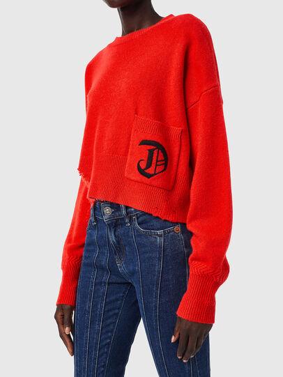 Diesel - M-IDAHI, Orange - Sweaters - Image 3