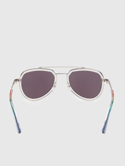 Diesel - DL0266, Multicolor - Sunglasses - Image 4