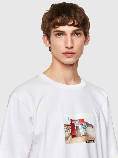 Diesel - T-TUBOLAR-B2, Blanco - Camisetas - Image 3