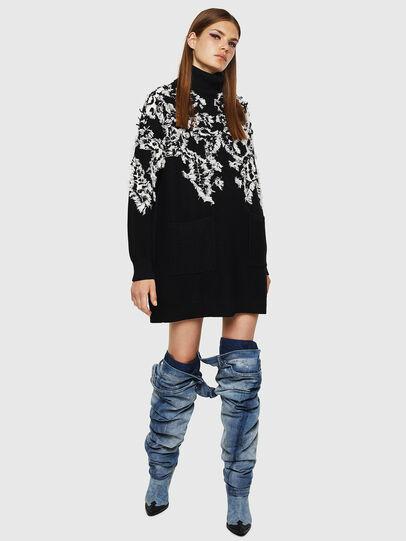 Diesel - M-CV-FURS, Black - Sweaters - Image 5