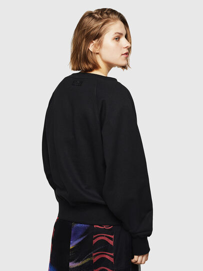 Diesel - F-HENNY-D, Black - Sweatshirts - Image 2