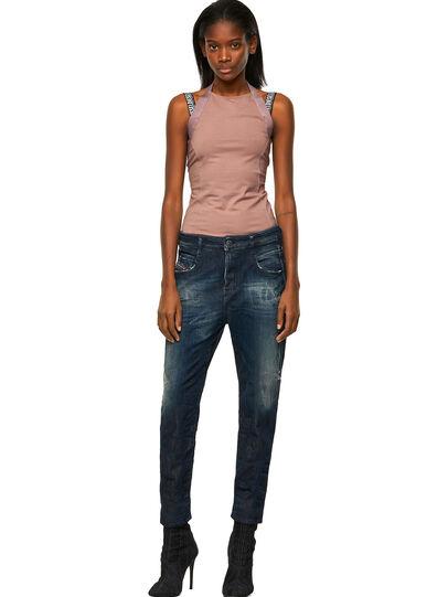 Diesel - Fayza Boyfriend JoggJeans® 09B50, Dark Blue - Jeans - Image 5