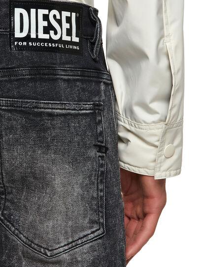 Diesel - D-Amny Skinny Jeans 009PX, Black/Dark Grey - Jeans - Image 4