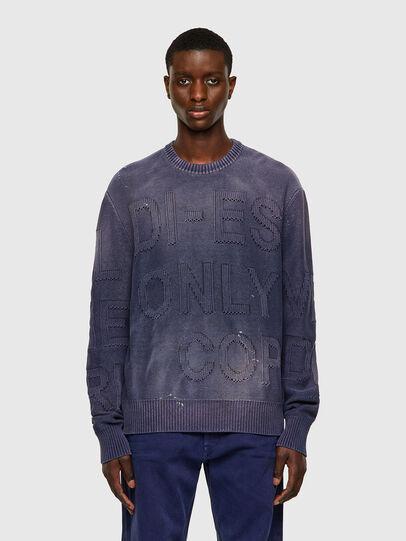 Diesel - K-NORTHERN, Blue - Sweaters - Image 1
