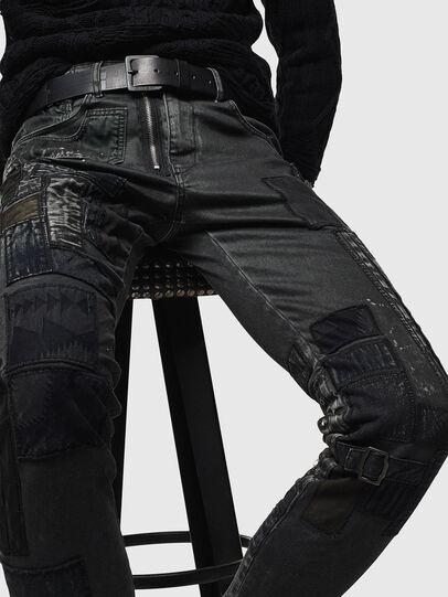 Diesel - D-Strukt 0093P, Black/Dark Grey - Jeans - Image 3