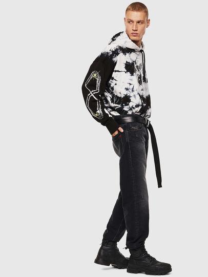 Diesel - S-ALBY-Y, Black/White - Sweatshirts - Image 5