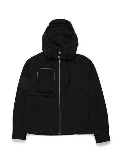 Diesel - ACW-SH03, Black - Denim Shirts - Image 1