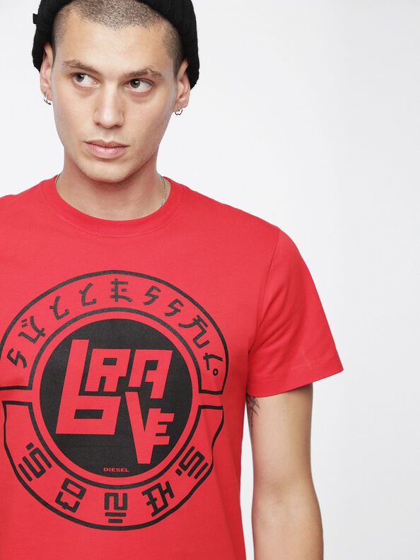 T-DIEGO-XC, Red - T-Shirts