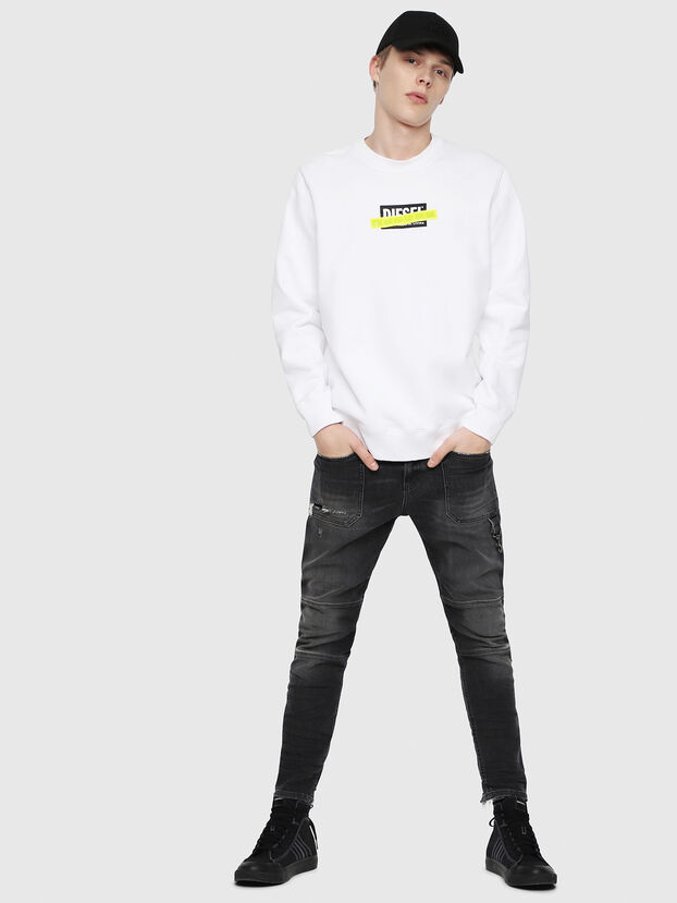 S-GIR-DIE, White - Sweatshirts