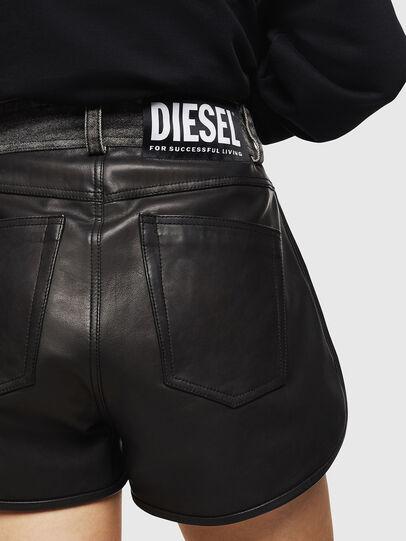 Diesel - L-FARA, Black - Shorts - Image 5