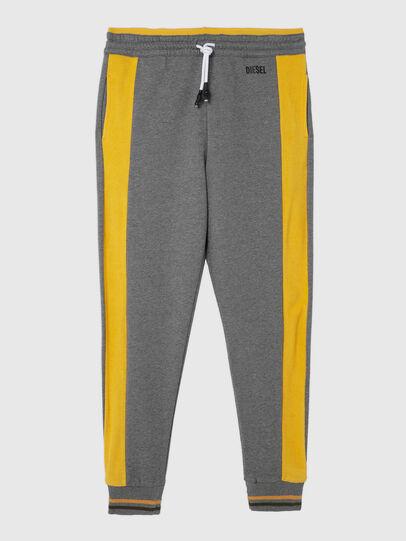 Diesel - UMLB-PETER-SP, Grey/Yellow - Pants - Image 1
