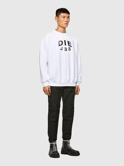 Diesel - S-MART-A90, White - Sweatshirts - Image 4