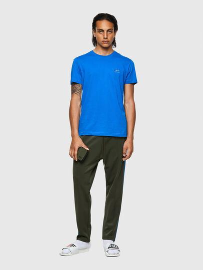 Diesel - T-DIEGOS-E2, Blue - T-Shirts - Image 4