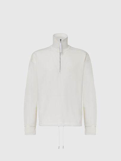 Diesel - S-STUFF, White - Sweatshirts - Image 1