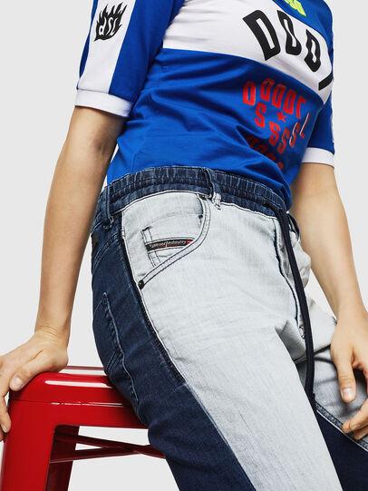Diesel - Krailey JoggJeans 0870R, Medium Blue - Jeans - Image 3