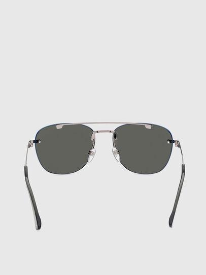 Diesel - DL0350, Grey/Blue - Sunglasses - Image 4