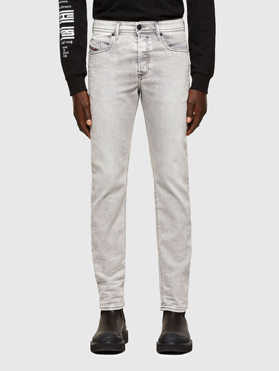 Diesel - Buster Tapered Jeans 069RP, Light Grey - Jeans - Image 1