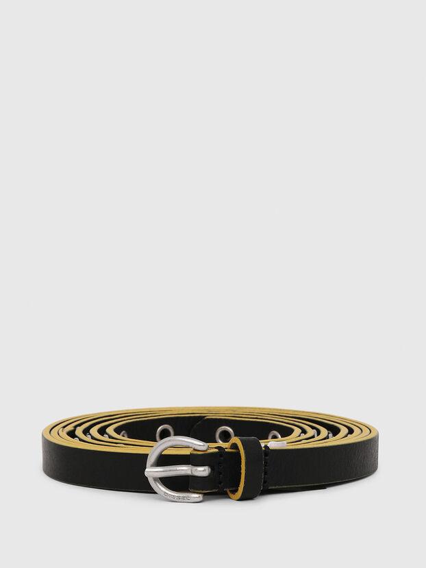B-MET, Black/Yellow - Belts