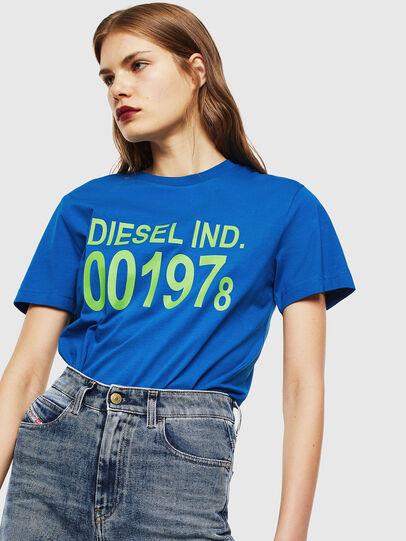 Diesel - T-DIEGO-001978, Brilliant Blue - T-Shirts - Image 2