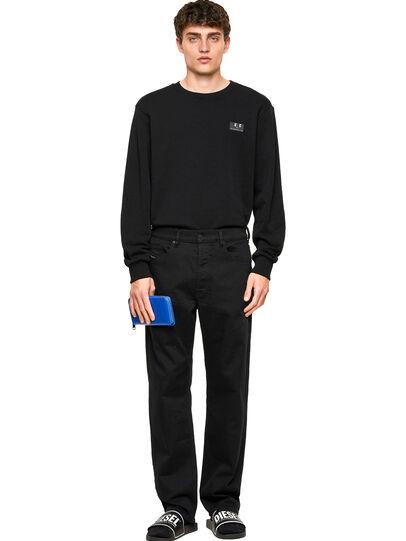 Diesel - D-Macs Straight Jeans 0688H, Black/Dark Grey - Jeans - Image 5