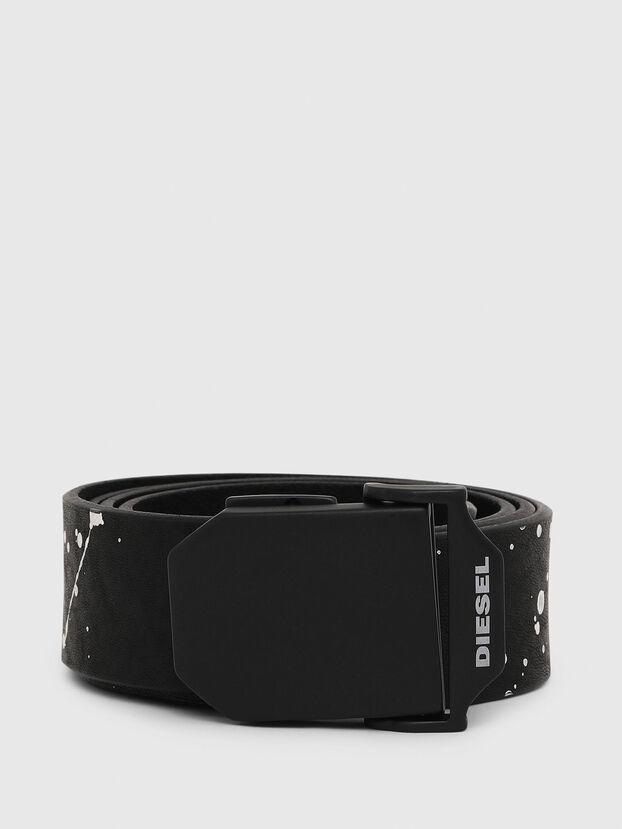 B-POL, Black/White - Belts