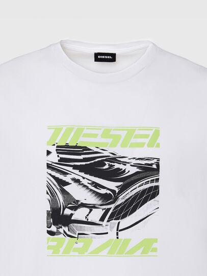 Diesel - T-DIEGOS-K33, White - T-Shirts - Image 3