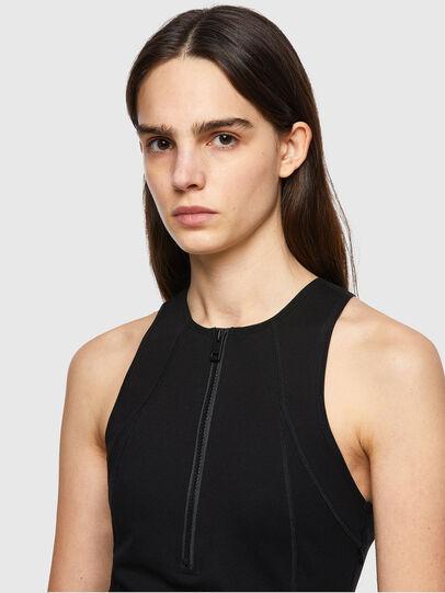 Diesel - D-SUB, Black - Dresses - Image 3