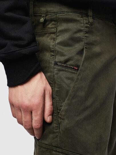 Diesel - D-KRETT-SHORT JOGGJEANS, Military Green - Shorts - Image 3